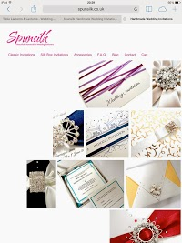 Spunsilk Handmade Wedding Invitations 849927 Image 5